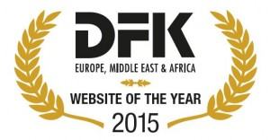 DFK EMEA Website of the Year Award 2015